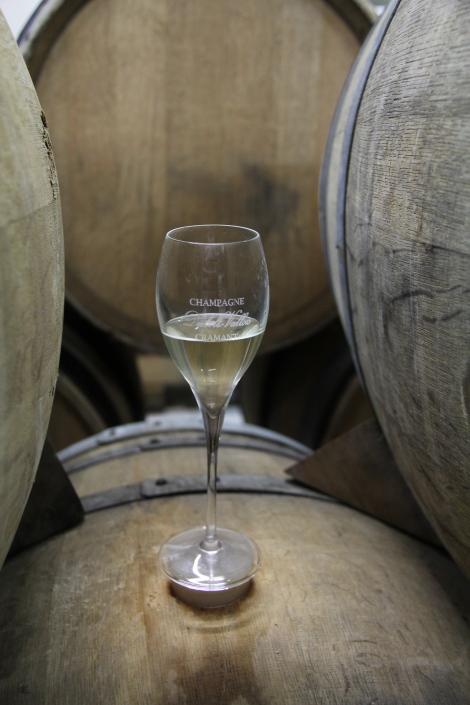 Champagne glass diebold vallois
